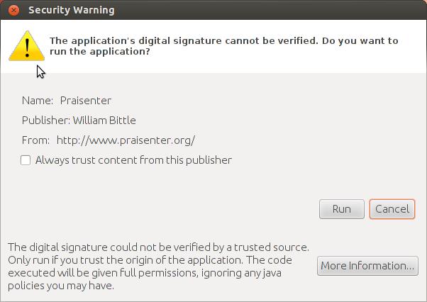UbuntuSecurityWarning